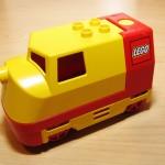 Lego Duplo Diesel Lok Bodenschalter Rot