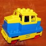 Lego Duplo Lok Diesel Blau