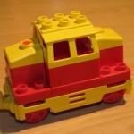 Lego Duplo Lok Diesel Rot Gelb